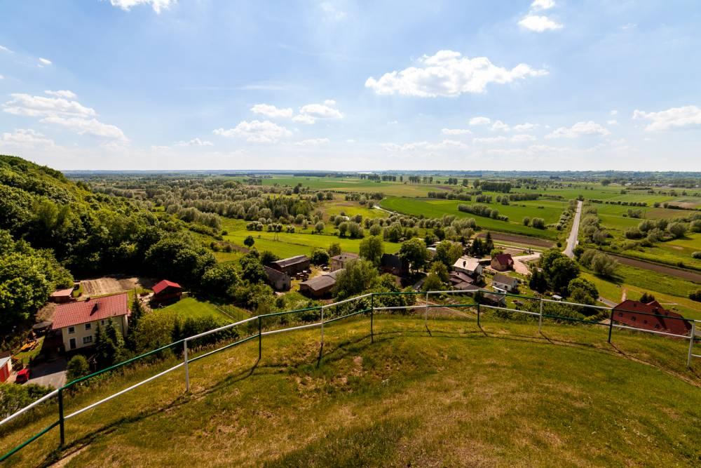 Starogród - Zamkowa Góra to miejsce gdzie istniał pierwszy zamek warowny Krzyżaków