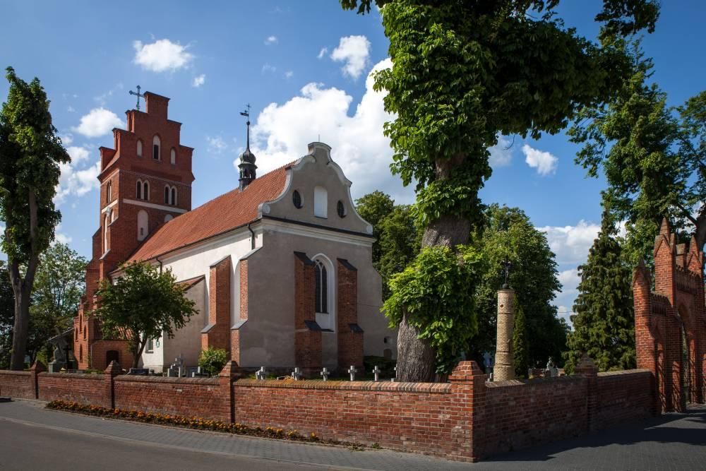 Barokowa świątynia pw. Wniebowzięcia NMP w Nowej Cerkwi