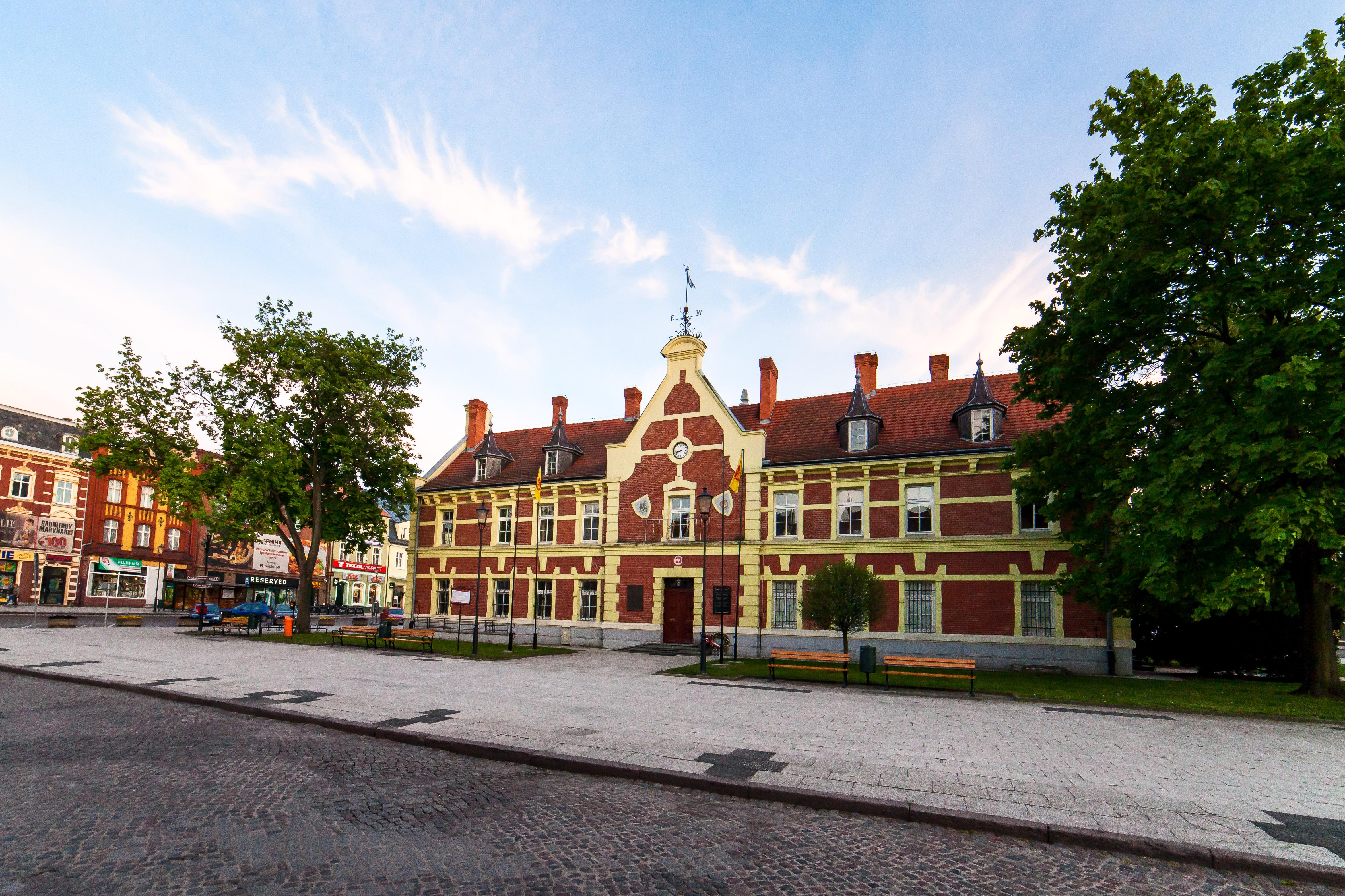 Rynek starego miasta w Starogardzie Gdańskim