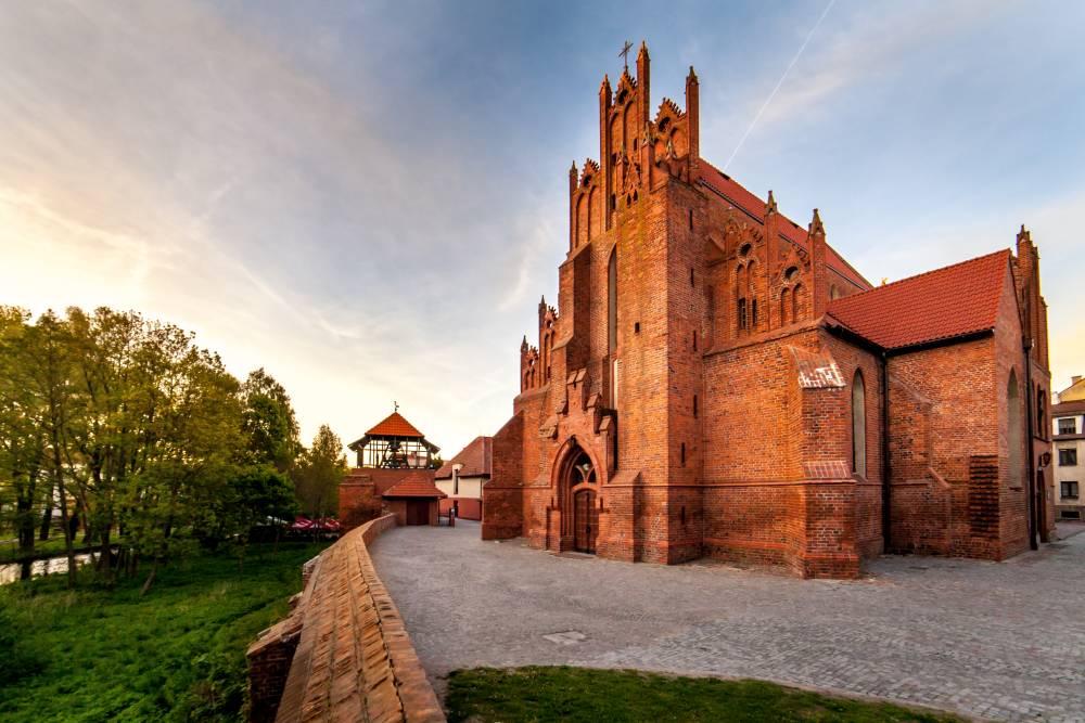 Mury obronne starego miasta w Starogardzie Gdańskim