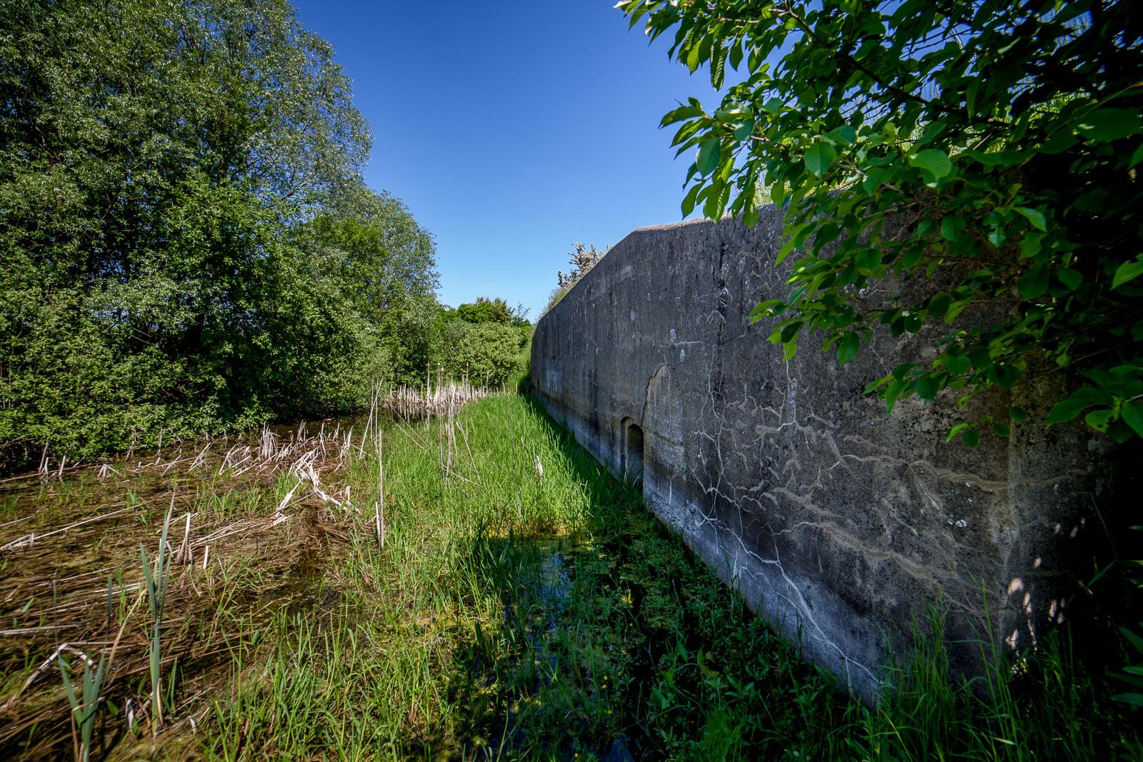 Jeden z obiektów Twierdzy Chełmno w Małem Czystem