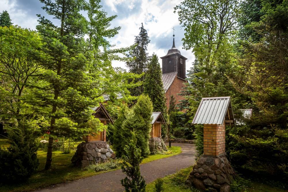 Kościół parafialny Wniebowzięcia NMP Trąbki Wielkie
