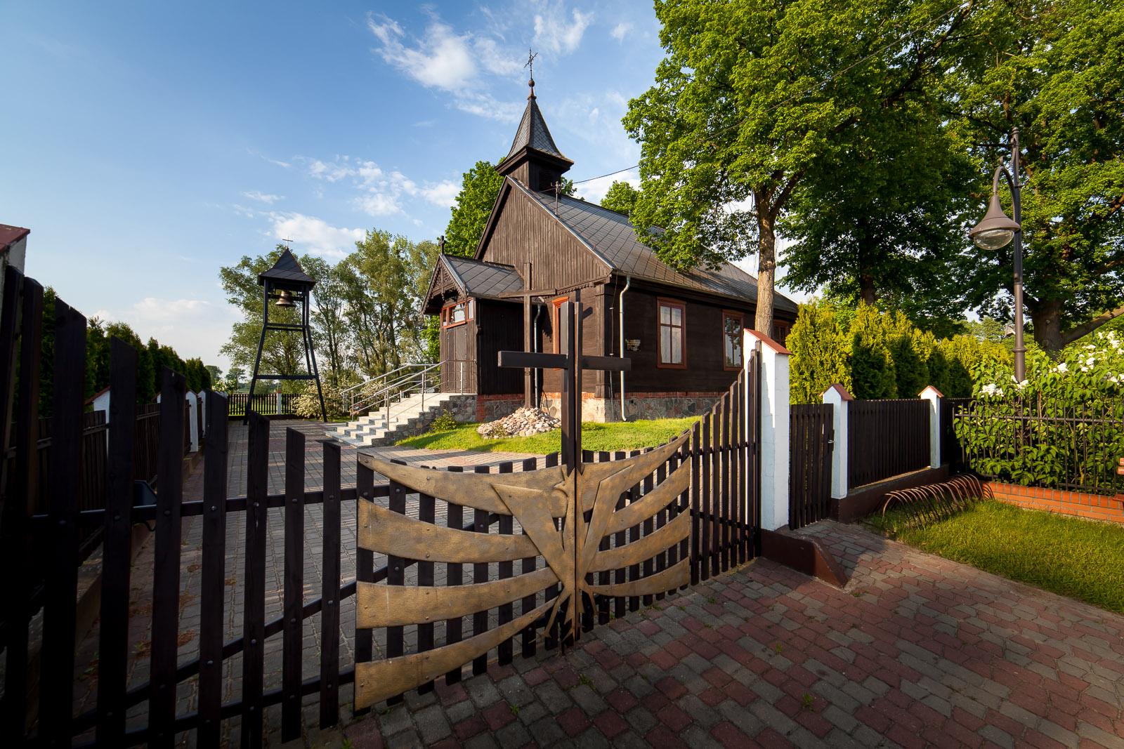 Drewniany kościół Najświętszego Serca Pana Jezusa w Małej Nieszawce – dawniej kaplica Menonitów